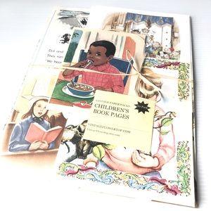 Childrens Paper Craft Ephemera Scrapbook Journals